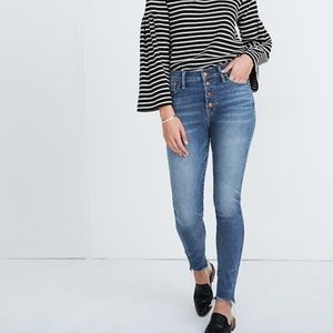 Brand New Madewell Jeans in Cordova Wash